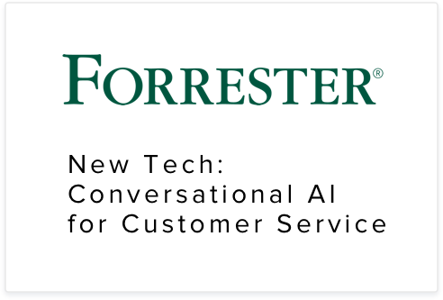 Netomi's platform was rated by Forrester as an email support system to watch in conversational AI for customer service