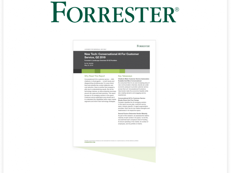 Forrester AI Report: Netomi Highlighted As A Growth Vendor In New Report