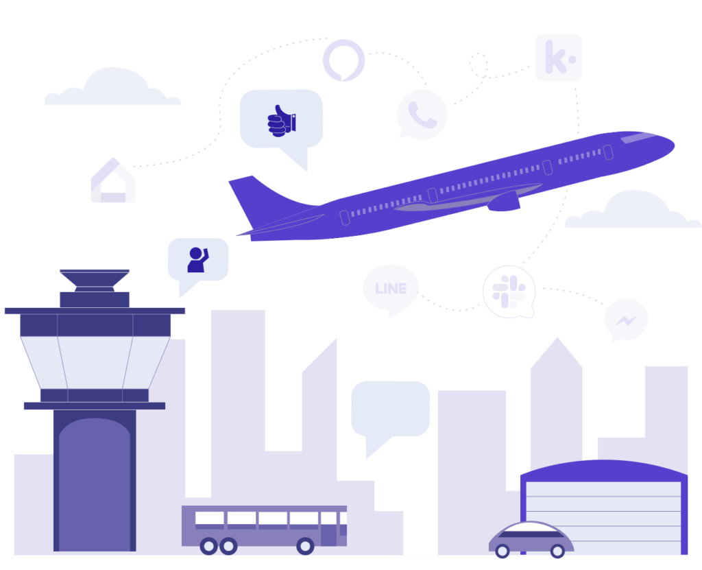 See how a travel chatbot can improve customer service