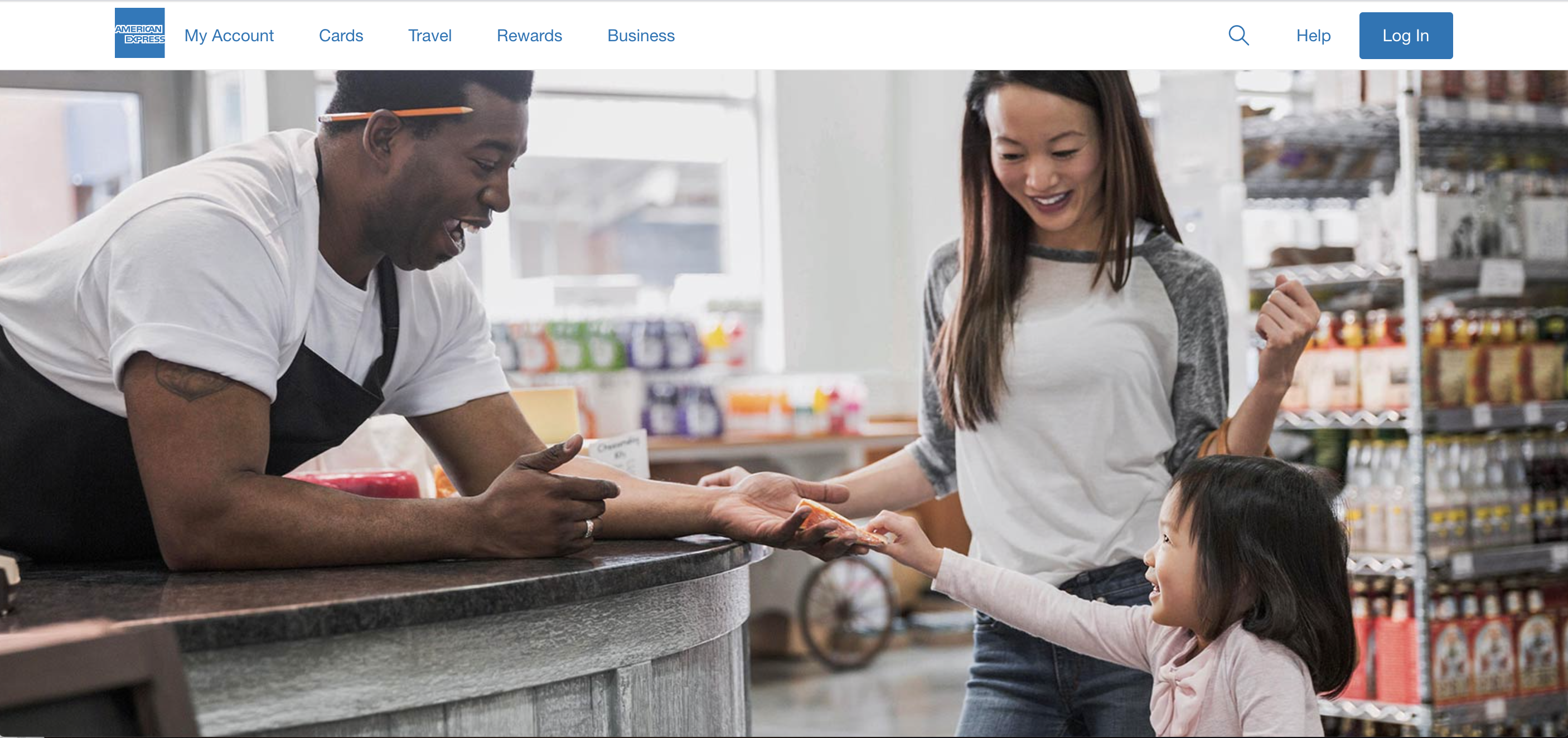American Express #WellActually Customer Service Report landing page