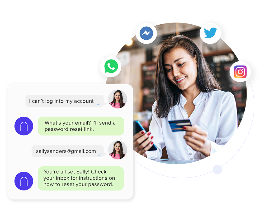 Messaging Chatbots.